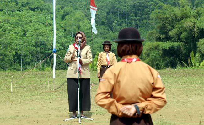 Wabup Lumajang Buka Jambore Penggalang 'Gerbang Adidaya 5' Gucialit