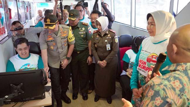 Bus KPK Sambangi Kota Batu Bikin Degdegan, Ternyata Roadshow