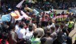 Demonstran Tuntut Realisasi BNPT dan PKH Transparan