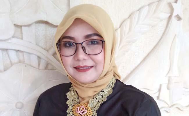 Fitri Yuhana Anggota DPRD Kabupaten Malang. (sur)