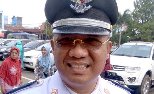 H Bayu Kurniawan Kades Rejoyoso Bantur. (sur)