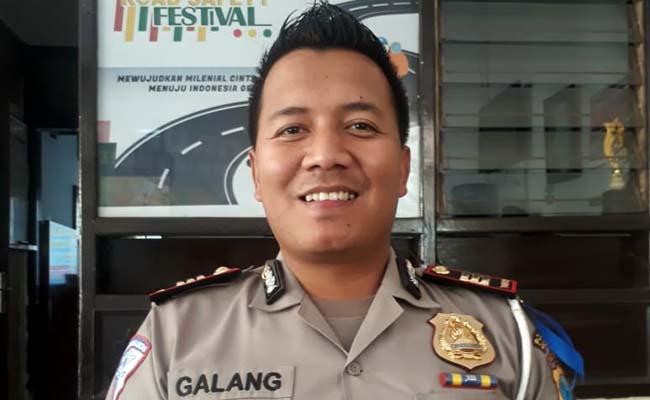Kasat Lantas Palres Malang Kota AKP Ari Galang S, SH SIK. (gie)