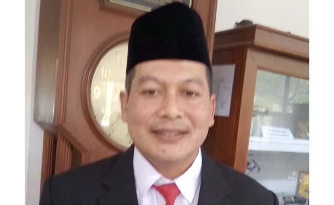 Didik Gatot Subroto Ketua DPC PDI Perjuangan Kabupaten Malang. (Sur)