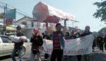 KPK Dilemahkan, Aktivis Jember Demo