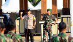 Kapolres Bersama Dandim 0823 Situbondo Siap Sambut Presiden