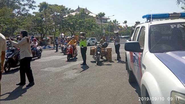 Operasi Patuh Semeru di Bangkalan, Total Pelanggar Sebanyak 2555