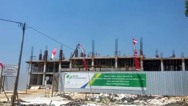 Proyek Pembangunan Gedung Baru DPRD Bangkalan