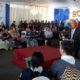 Perayaan HUt ke 73 Bea dan Cukai di kantor Bea dan Cukai Malang. (gie)