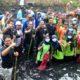 Bupati dan Wabup Jombang pungut Sampah, Nyemplung Kali