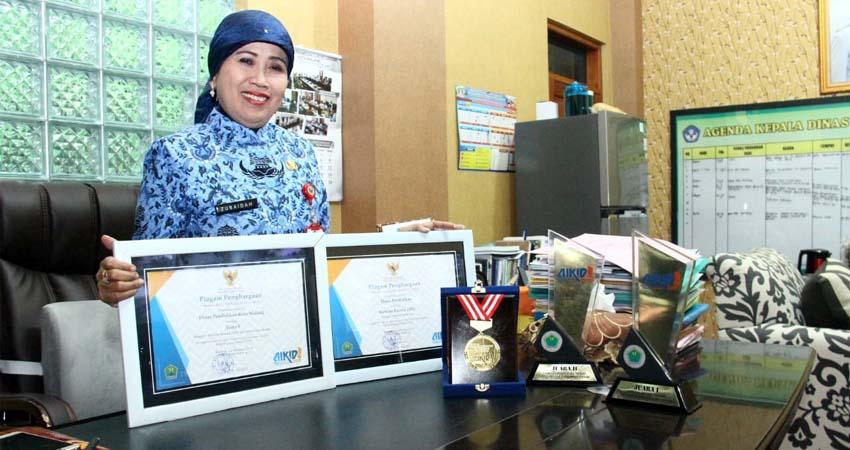 Dindik Kota Malang Raih Tiga Penghargaan Dalam Ajang AIKID 2019
