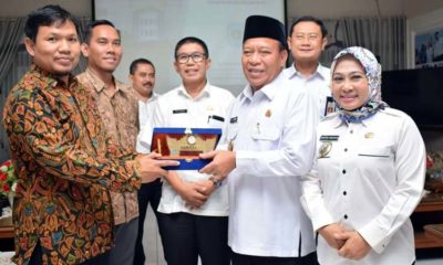 Fadeli Claim Lamongan Peringkat Pertama se-Jawa Timur dalam Korsupgah