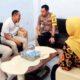 Kapolres Trenggalek melakukan koordinasi dan bersilaturahmi di Kantor KPU Kabupaten Trenggalek