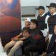 Corporate Deputy Director of Passenger Transport Marketing and Sales KAI, Asdo Artriviyanto didampingi Manager Humas PT KAI Daop 8 Surabaya serta staf dan jajaran saat meninjau pelaksanaan event