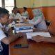 PPKD desa Rowotamtu saat penyusunan Anggaran DD tahap ke III. (yud)