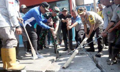 Walikota Malang Galakkan Kerja Bakti, Tiap Jumat Bersihkan Sampah