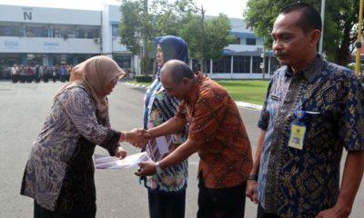 75 ASN di Lingkungan Pemkab Malang Terima SK Pensiun