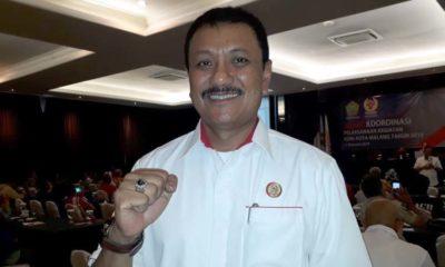 Ketua KONI Kota Malang Eddy Wahyono.( dukumen)