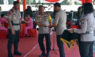 Polda Jatim Gelar Napak Tilas Pahlawan Kepolisian
