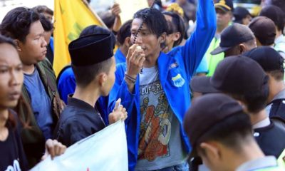 Aktivis Mahasiswa Demo Dewan, Desak Pembangunan RSUD Barat Tanpa KPBU