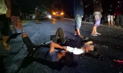 Boncengan 3 Mabuk Megal-Megol, Eh Adu Banteng, Masuk IGD Wes...