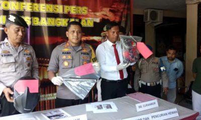 Kapolres Bangkalan merilis dua DPO pencuri motor dan sapi