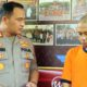 AKBP Yade Setiawan Ujung saat mewawancarai CH dalam rilis pers Sabtu (7/12/2019) siang. (ist)