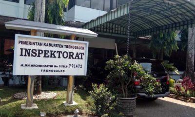 Kantor Inspektorat Kabupaten Trenggalek. (mil)