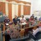 Ketua Komisi III DPRD Kabupaten Situbondo H Bashori Shanhaji (baju putih memakai kopyah). (imam)
