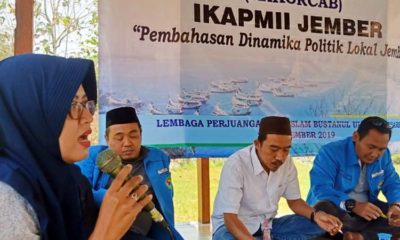 Sarasehan dan diskusi pengurus dan anggota IKA PMII Kabupaten Jember beberapa waktu lalu