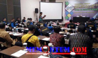 Suasana rapat pleno dan pengukuhan anggota TKPSDA Bondoyudo Bedadung. (yud)