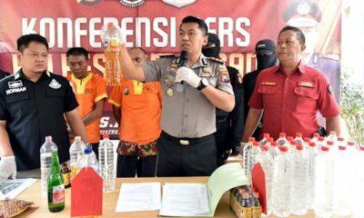 Pesta Miras Maut, Polres Lamongan Tetapkan Dua Penyedia Oplosan jadi Tersangka