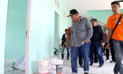 Proyek Disidak Bupati Tak Selesai, Kontraktor Terancam Denda