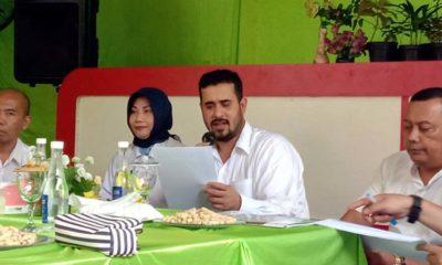 Wali kota dan wakil Wali Kota Probolinggo bersama OPS dan Satker saat memaparkan hasil kinerja kepada media (Pix)