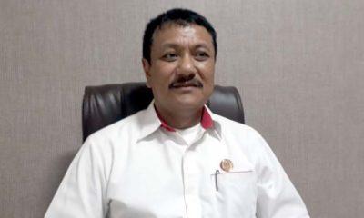 Ketua KONI Kota Malang Eddy Wahyono saat bertemu wartawan beberapa hari lalu. (gie)