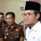 Kepala Kejaksaan Negeri Bangkalan, Badrut Tamam bersama Bupati Bangkalan, R Abdul Latif Amin Imron