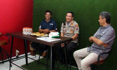 Kapolresta Malang Kunjungi Memo X Grup, Berpesan Wartawan Harus Pegang Teguh Kode Etik