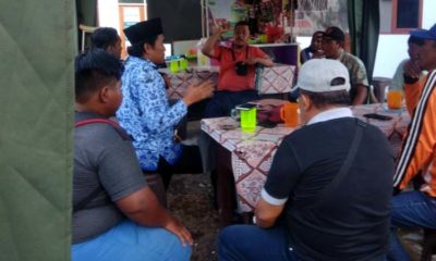 Puluhan Pengurus Wisata Mangrove Desa Bengkak Geruduk Kantor Desa