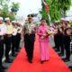 Sholawat Nariyah dan Tari Landhung Meriahkan Penyambutan AKBP Sugandi sebagai Kapolres Situbondo