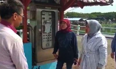 Surabaya Gak Banjir, Risma Keliling Antisipasi dan Tambah Kapasitas Pompa