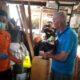 Adegan rekonstruksi tindak pidana pembuhan yang dilakukan oleh Hendrik Tibboel alias Abdullah warga negara Belanda, bertempat di lingkungan Gombeng, Kelurahan Gombengsari, Kecamatan Kalipuro, Rabu (08/01/2020) siang. (ras)