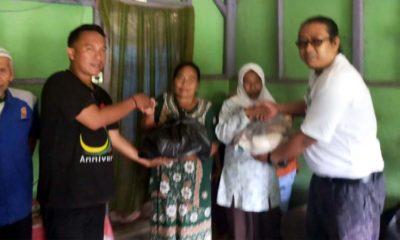 Rangkaian HPN 2020, IWL Santuni Kaum Dhuafa di Kaki Gunung Semeru