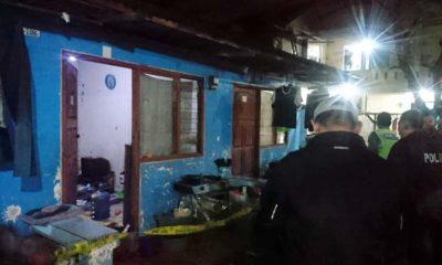 CEMBURU - Kasus kematian Ria yang diduga dibacok suaminya Syarifuddin di rumahnya Desa Keboansikep, Kecamatan Gedangan, Sidoarjo diduga karena pelaku cemburu, Selasa (25/02/2020)