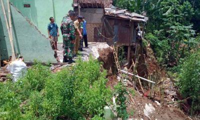 2 Rumah Manggantung, Danramil 082416 Tanggul akan Koordinasi dengan Camat