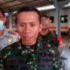 Dandim 0824 didampingi manajer keamanan PT KAI Jember saat diwawancarai. (yud)