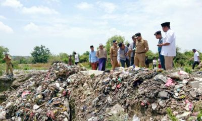Bupati bersama Forkopimda meninjau lokasi TPA baru di desa Bunajih, Kecamatan Labang, Bangkalan