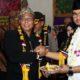 Bupati Bangkalan, R Abdul Latif dan Ketua Laskar Tjakraningrat, Fathur Rahman Said saat Peresmian