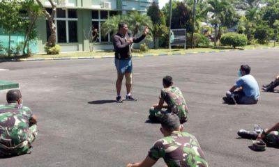 Malang Covid-19 Dandim 0818 Ajak Masyarakat Hidup Bersih dan Sehat