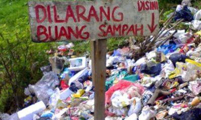 Sampah Perkotaan Dibuang ke Desa Bunajih, Jadi TPA Sementara