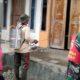 Sertu Slamet Bersama Pemdes Kotakan Pelopori Penyemprotan Disinfektan di Warga Binaannya
