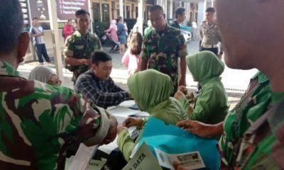 Sinergitas TNI-Polri, Awali Soft Launching Layanan SIM Minggu Polresta Sidoarjo